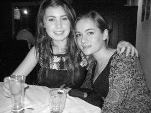 My Birthday meal out for my 17th... We thought we were ultra sophisticated!!
