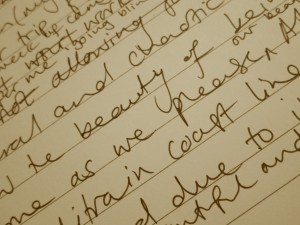 I still use a good old fashioned pen on paper to get the bulk of my thoughts out!